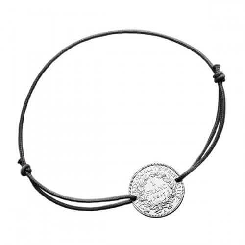 Monnaie de Paris : bracelet 1 franc argent