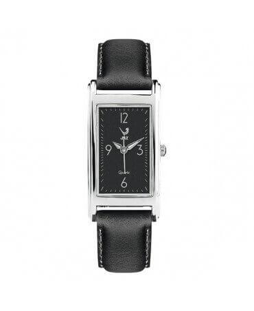 JAZ : montre Simplistic (bracelet noir)