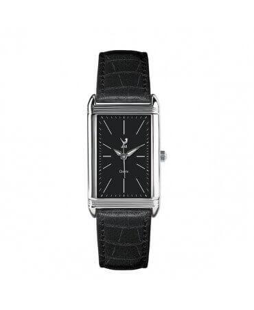 JAZ : montre Symetric (bracelet noir)