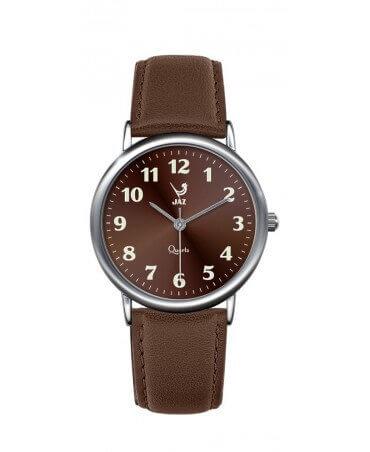 JAZ : montre Pragmatic marron (bracelet marron)