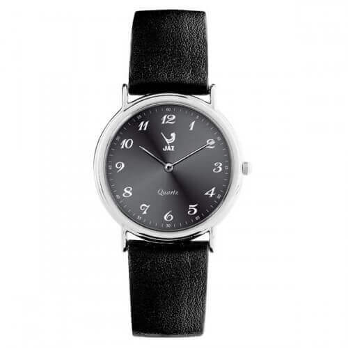 JAZ : montre Algebraic (cadran noir bracelet noir)