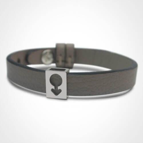 Mikado : bracelet Lovely Boy (argent)