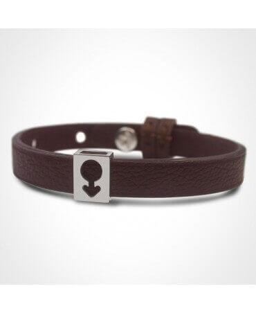 Mikado : bracelet Lovely Boy (or blanc)