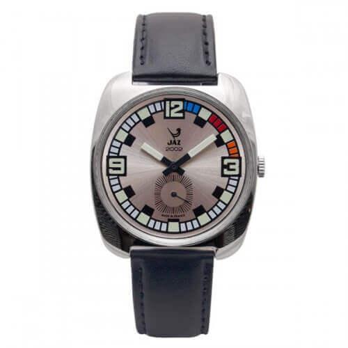 JAZ : montre Phenix blanche bracelet noir