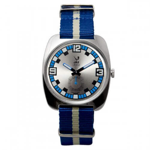 JAZ : montre Phenix bleue