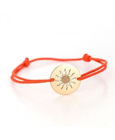 Je T'Ador : bracelet soleil
