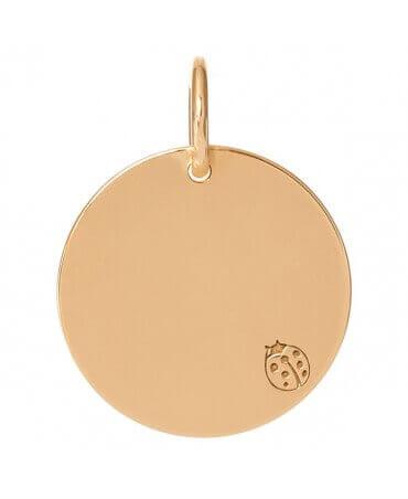 Je t'Ador : médaille Coccinelle