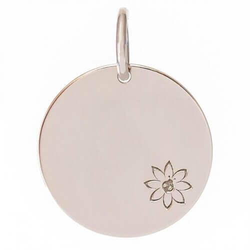 Je t'Ador : médaille Fleur