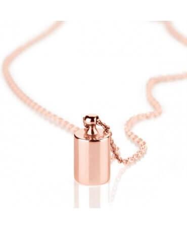 Collier Mon Petit Poids plaqué or rose