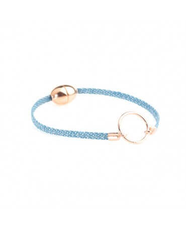 Flowers For Zoé : bracelet cuir enfant Eleonore