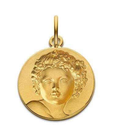 Monnaie de Paris : médaille Enfant Roi (or jaune)