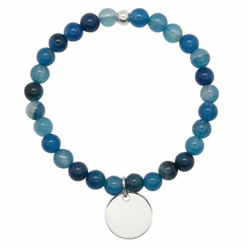 bracelet perle élastique personnalisable - Petits Trésors