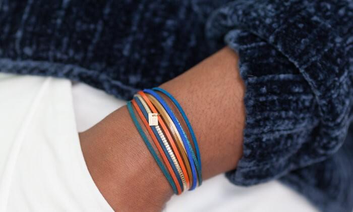 La fabuleuse histoire du bracelet cuir FlowersForZoé