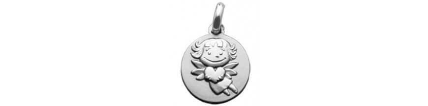 Super Médailles baptême - médailles religieuses - médailles laïques  ZG41